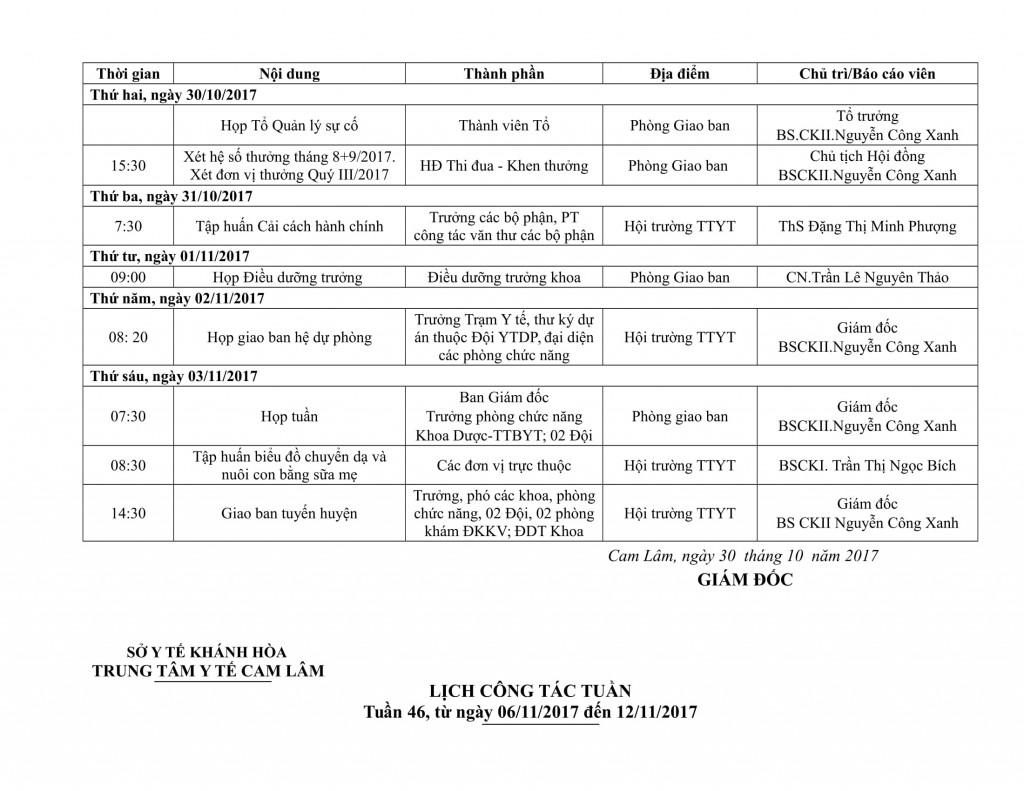 Lịch công tác tuần QIV-2017-05